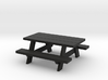 Picnic Table S-Scale 3d printed