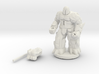 Earth Elemental Myrmidon 3d printed