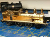 GER/LNER F4/F5 body (non-condensing) N Gauge 3d printed Polished brass