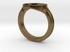 Dark Souls inspired Wolf Ring 3d printed