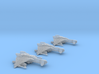 3-Pack Vaksai Fighter Variant 2A 1/270 3d printed