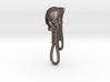Skull Keychain Clip 3d printed