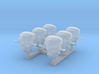 1/500 RN WW2 HACS MKIII Covered (6) 3d printed 1/500 RN WW2 HACS MKIII Covered (6)