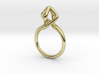 Dancing D.022, Ring US size 5.5, d=16mm 3d printed