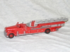 Seagrave 1951 1:87 3d printed Seagrave Midship Mount from 1951 painted by FIREAPPJNL