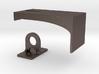 Padlock Hasp (compatible w/ IKEA MORLIDEN door) 3d printed