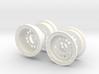FA30008 Beadlock Style Wheel covers (SET OF 4) 3d printed