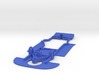 1/32 Ninco Ford GT Chassis for Slot.it AW pod 3d printed