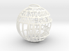 Mimi Quotaball 3d printed