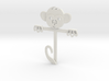 Monkey Gift Card Holder 3d printed
