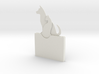 Cat And Dog Gift Card Holder 3d printed