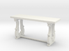 Decorative French Console Table 3d printed