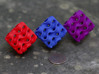 Gyroid Block with Rounded Edges 3d printed