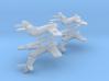 1/700 MiG-17 (x4) 3d printed