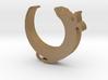 Otter Bottle Opener Keychain 3d printed