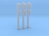 N-Gauge signal for Digitrax SMBK base (3-pack) 3d printed