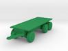 1/200 Scale HEMITT M-1076 Flat Bed Trailer 3d printed