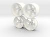 Foose Rims Torque Thrust 1/12 MODIFIED 3d printed