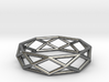 Unique Triangle Ring 3d printed