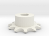 Chain sprocket ISO 05B-1 P8 Z11 3d printed