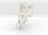 Kosmoceratops Earrings 3d printed