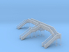 Footbridge 3 N Scale 3d printed