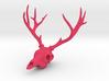 Deer Skull Pendant - 3DKitbash.com 3d printed