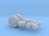 1/64th Asphalt Paver wheels 3d printed