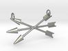 Arrows Pendant 3d printed