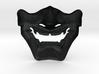 Samurai Mask High Quality 3d printed