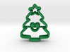 Mini Xmas Tree Cookie Cutter 3d printed