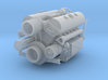 1/16 Maybach HL 120 TRM Engine Cap- Cap bolted 3d printed