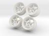 1.10 Touring Car Vossen VWS3 Wheels Set 3d printed