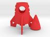 Rocket Toothstick Holder 3d printed