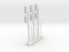 Block Signal Double 3 Light LH (Qty 3) - HO 87:1  3d printed
