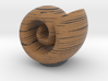 ^wood grain cochlea 3d printed