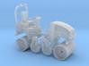 1/87th Asphalt or concrete Roller 3d printed