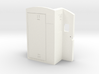 O Scale Sharknose Rear Wall - Rectangle Windows 3d printed