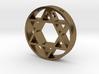David Star pendant for men. 3d printed