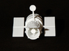 Hubble Space Telescope 3d printed Hubble Space Telescope - White Strong and flexible 3D print