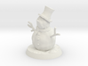 35mm Scale Snowman 3d printed