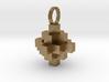 Block Pendant 3d printed