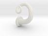 Spiral Cork-Screw Horn ~Right~ 3d printed