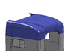 1/24 Peterbilt Unibilt Sleeper Roof part 3d printed