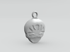 Smiling Child - head - Design for pendant/earring  3d printed Plastic preview