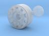 1/24 MAN TGX V8 front Wheel for italeri  3d printed