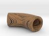 wood grain bent tube 3d printed
