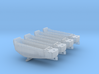 1/400 Scale LCVP Set Of 4 3d printed