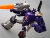 Galvatron idw for titans return 3d printed paint sample