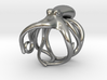 Octopus Ring 23.4mm(American Size 14.5) 3d printed
